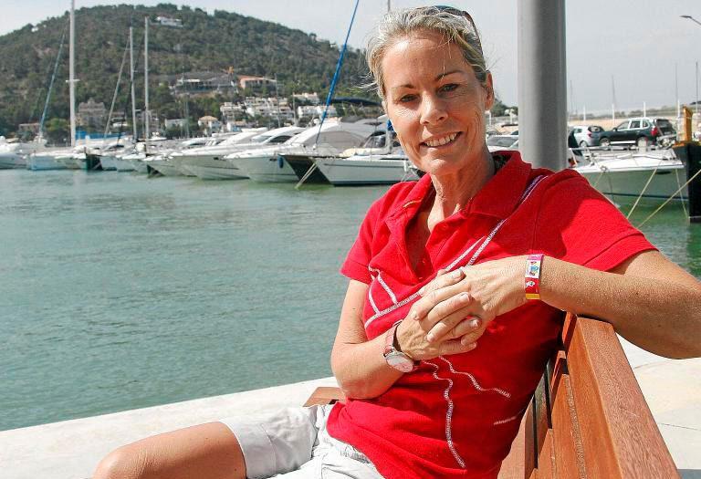 Theresa Zabell, regatista y medallista olímpica de vela