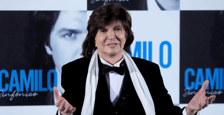 Camilo Sesto, en su última aparición pública en noviembre de 2018