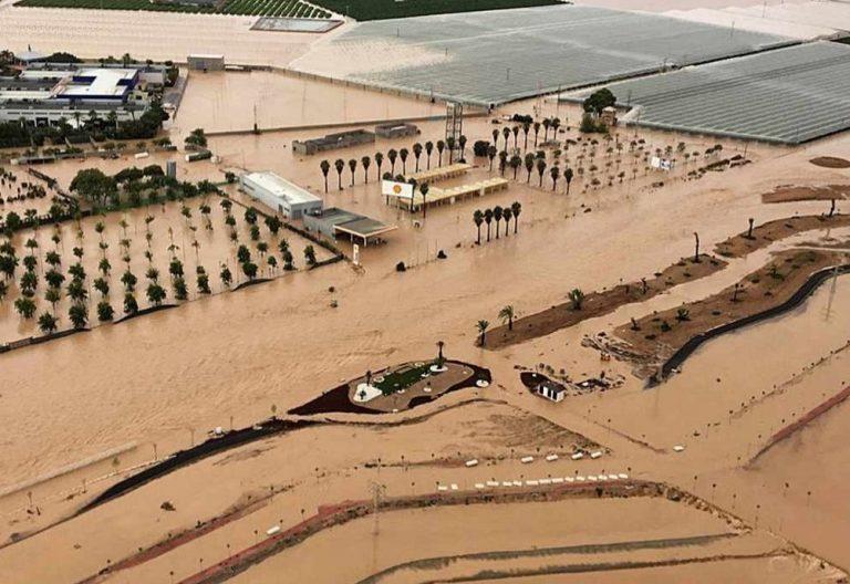 efectos inundaciones gota fria los alcazares murcia septiembre 2019