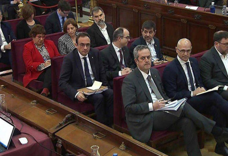 juicio presos soberanistas -proces cataluña-audiencia-nacional-2019