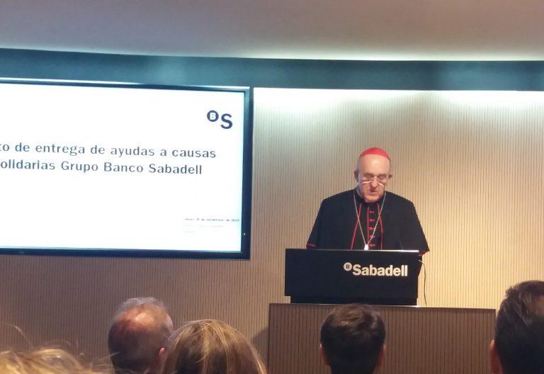 osoro discurso entrega premios fondo etico banco sabadellurquijo banca privada
