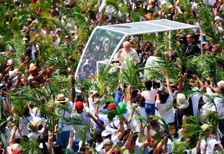 El papa Francisco en Isla Mauricio