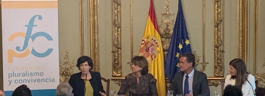 Dolores Delgado, Juan Fernando López Aguilar e Inés Mazarrasa
