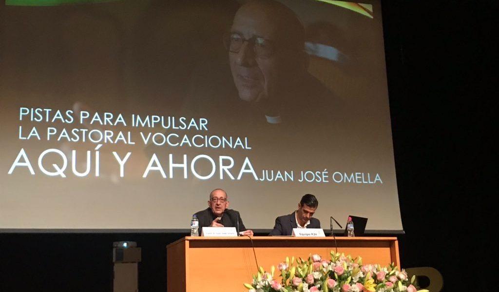 El cardenal Omella, durante su participación en las jornadas de Confer