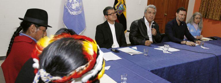 Ecuador negociaciones indígenas
