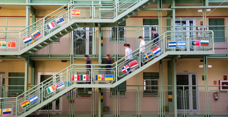En el Colegio de la Asunción Vallecas conviven alumnos de 38 nacionalidades