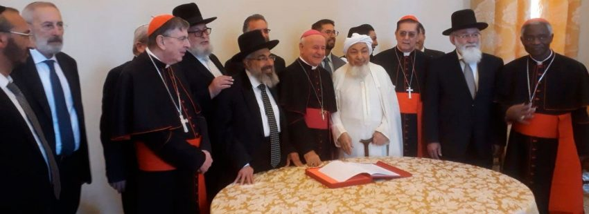 Declaración conjunta contra la eutanasia de católicos, musulmanes y judíos