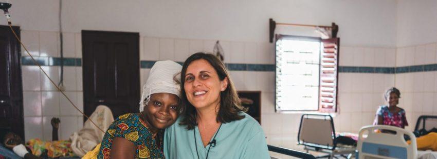 La misionera española Isabel Fernández Escobar