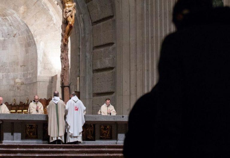Eucaristía en el Valle de los Caídos