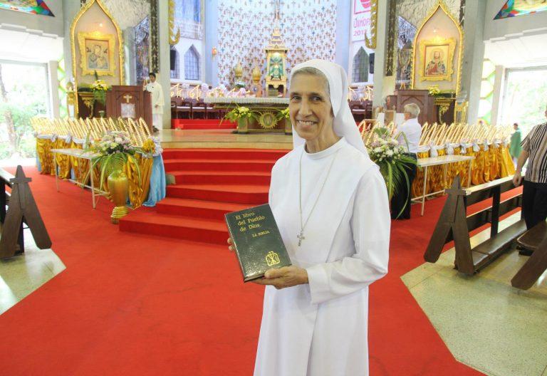 Ana Rosa Sivori, religiosa prima del papa Francisco en Tailandia