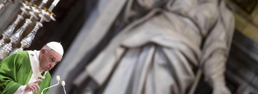 El Papa Francisco, en la III Jornada Mundial del Pobre
