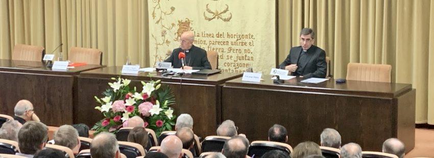 El cardenal arzobispo de Valladolid y presidente de la Conferencia Episcopal Española, en la Universidad de Navarra