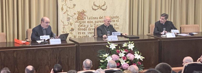 Carlos López Segovia, vicesecretario para Asuntos Generales de la Conferencia Episcopal Española, en la Universidad de Navarra