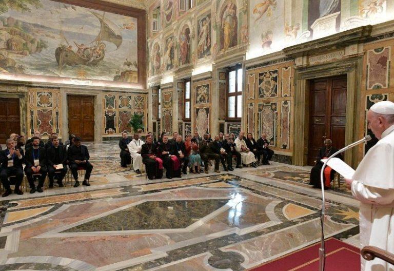 Audiencia del papa Francisco con responsables de Pastoral Penitenciaria