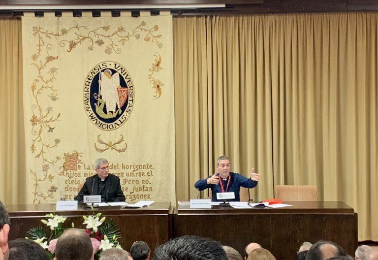 Jordi Bertomeu, oficial de Doctrina de la Fe, en la Universidad de Navarra