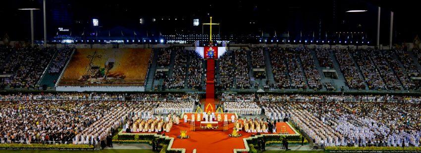 Misa del papa Francisco en Tailandia