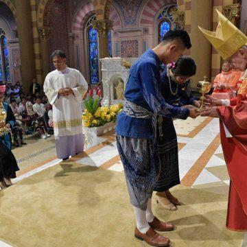 El papa Francisco, en su misa con los jóvenes en Tailandia