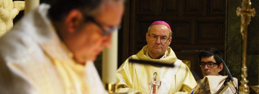 El arzobispo de Toledo, Francisco Cerro
