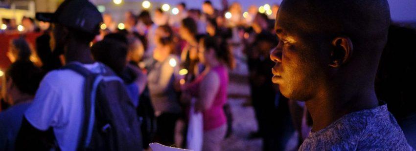 Vigilia de oración por los migrantes en Cádiz
