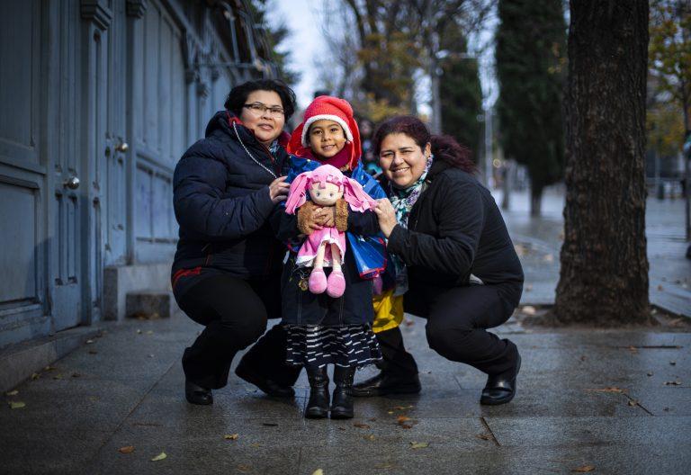 Inmigrantes venezolanas en Madrid