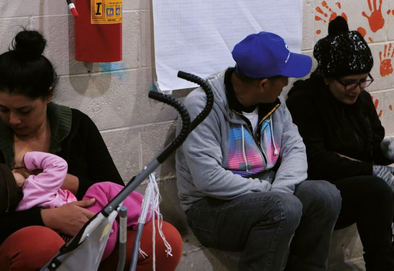 México, migrantes, centro de acogida, albergues, Iglesia