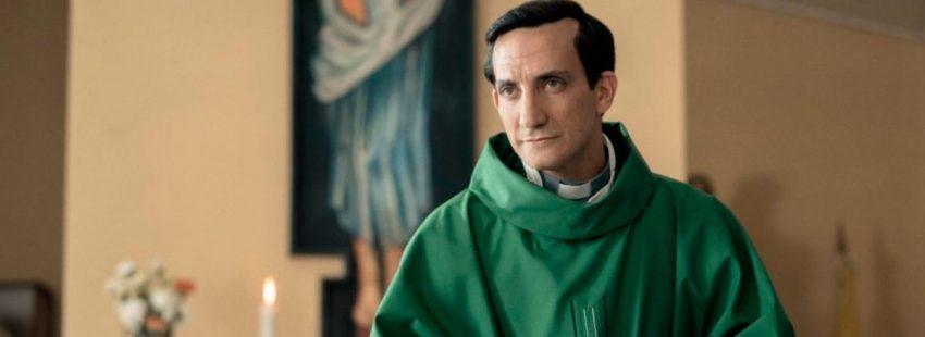 Juan Minujín hace del papa Francisco joven en 'Los dos papas'