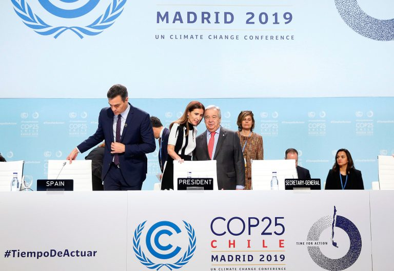 Apertura de la Cumbre del Clima COP25