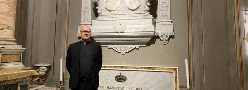 José Jaime Brosel, nuevo rector de la Iglesia Española de Montserrat en Roma