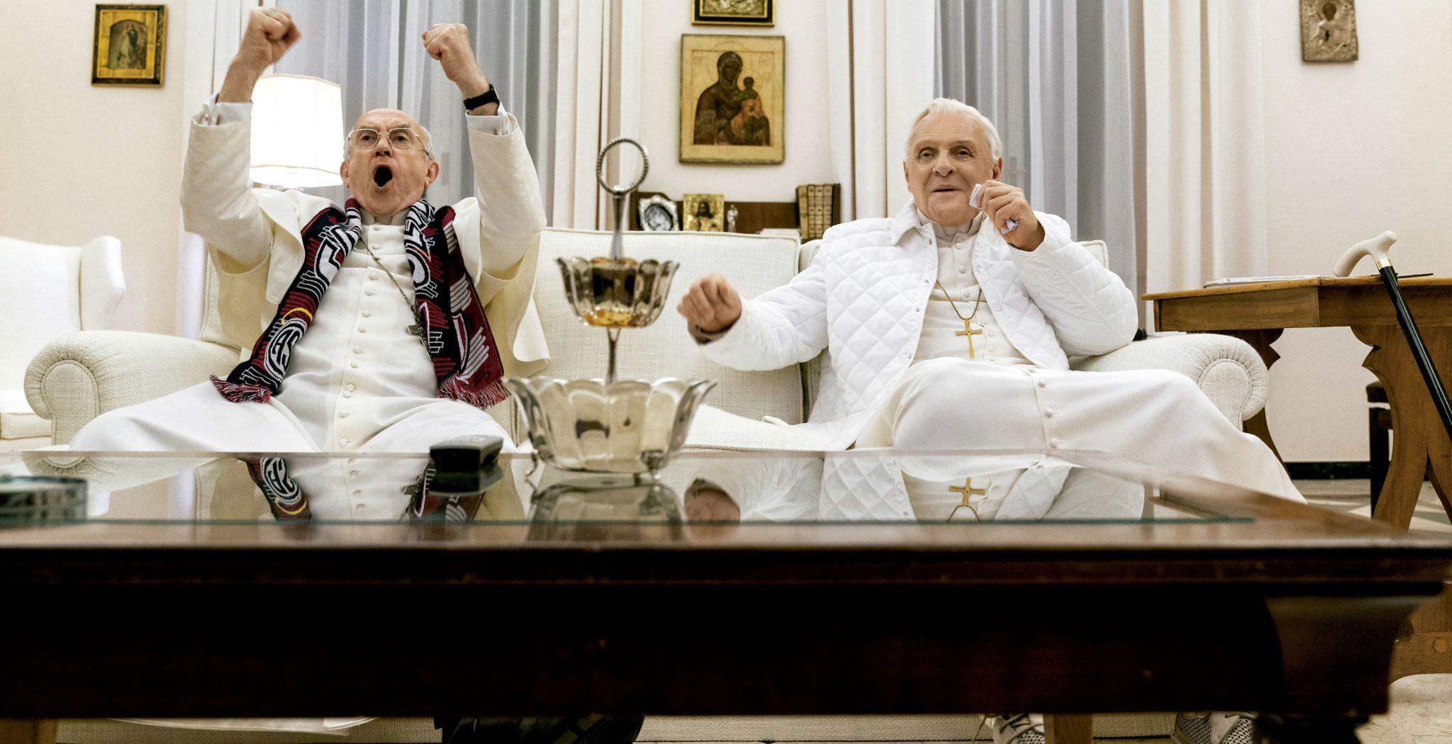 Los dos Papas Netflix