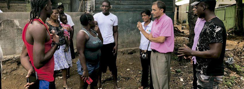 Miguel Ángel Gullón, misionero dominico en El Seibo, República Dominicana