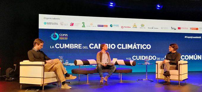 Tomás Insúa, director ejecutivo del Movimiento Católico Mundial por el Clima en el foro sobre cambio climático de la Fundación Pablo VI