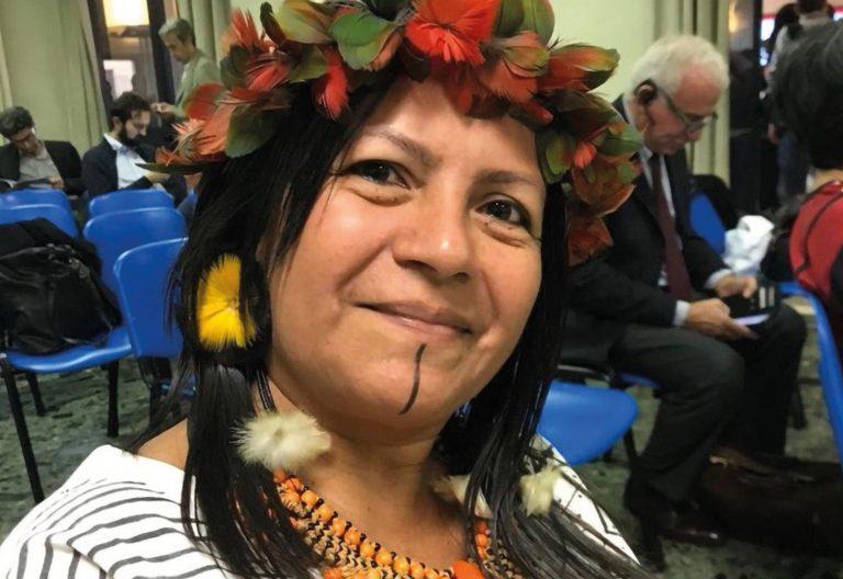 Participante en el Sínodo de la Amazonía, representante del grupo étnico sateré mawé (Brasil)