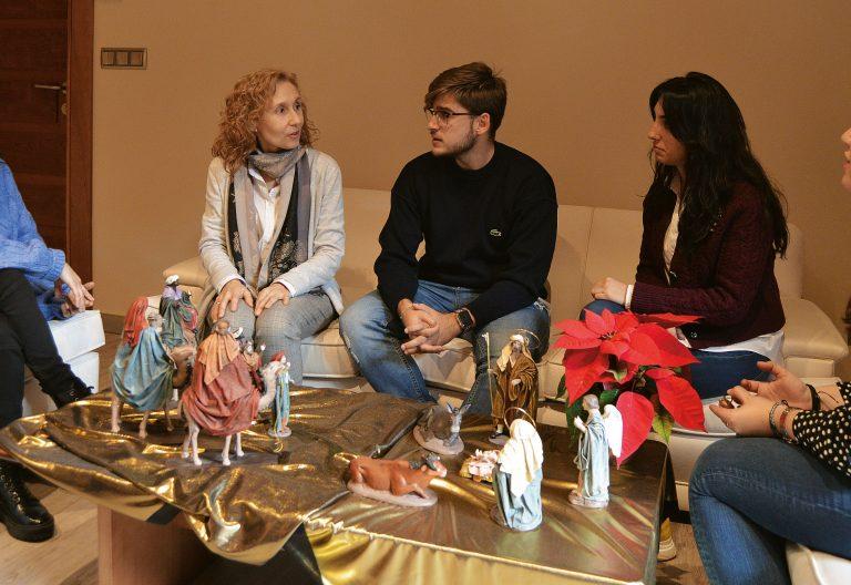Miriam Cortés/estudiantes UPSA
