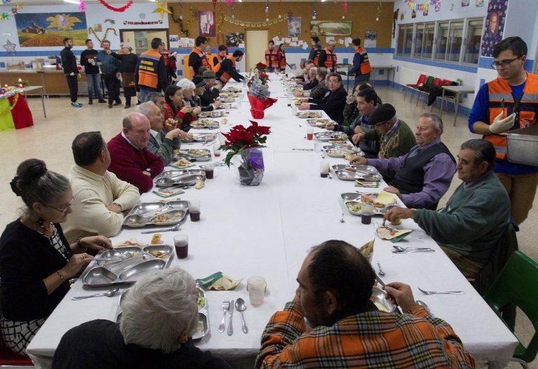 Comedor social en Zamora