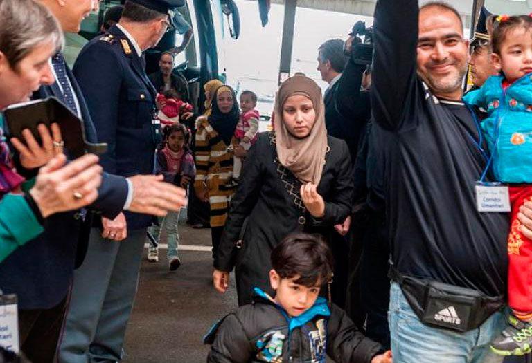 corredor humanitario Roma Italia