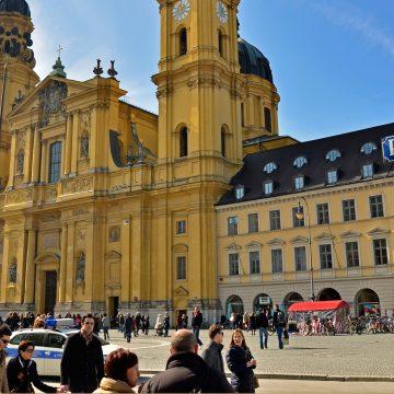 Iglesia teatinos Múnich