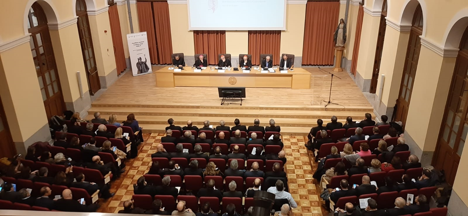 inauguracion sede madrid pontificio instituto juan pablo ii madrid enero 2020