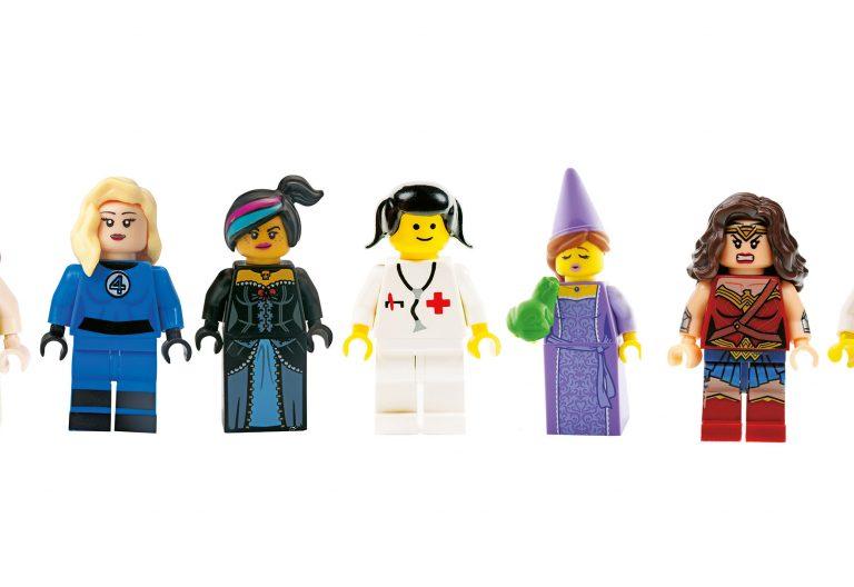 tipos de mujeres Lego