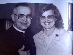 Zilda y su hermano el cardenal Paulo Evaristo