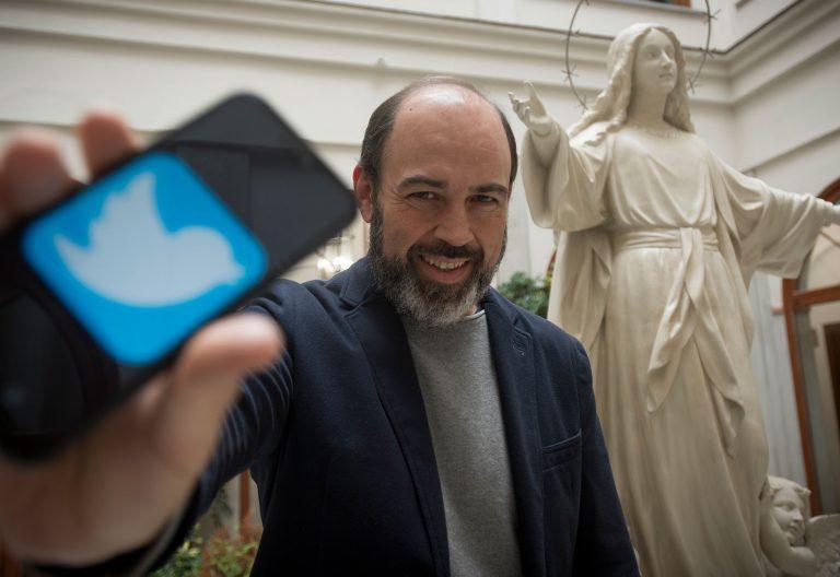 El periodista malagueño Antonio Moreno