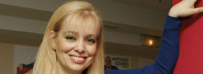 La actriz Emma Ozores