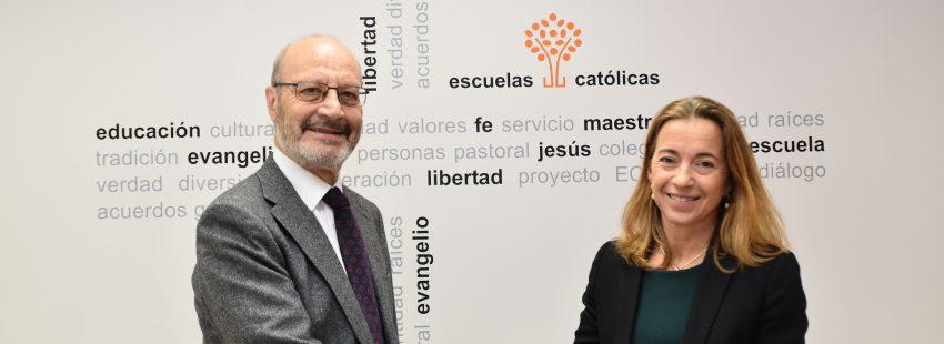 Escuelas Católicas firma un convenio con PPC