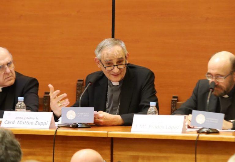 El cardenal Matteo Zuppi
