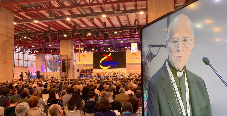 El presidente del Episcopado, Ricardo Blázquez, en el Congreso de Laicos