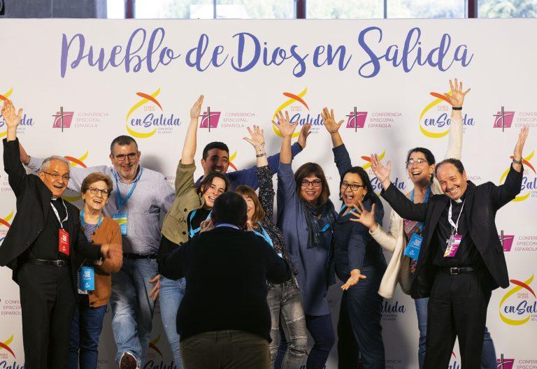 Congreso Laicos Madrid, photocall