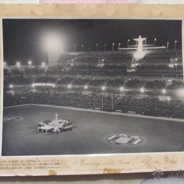 Pío XII en el Bernabéu