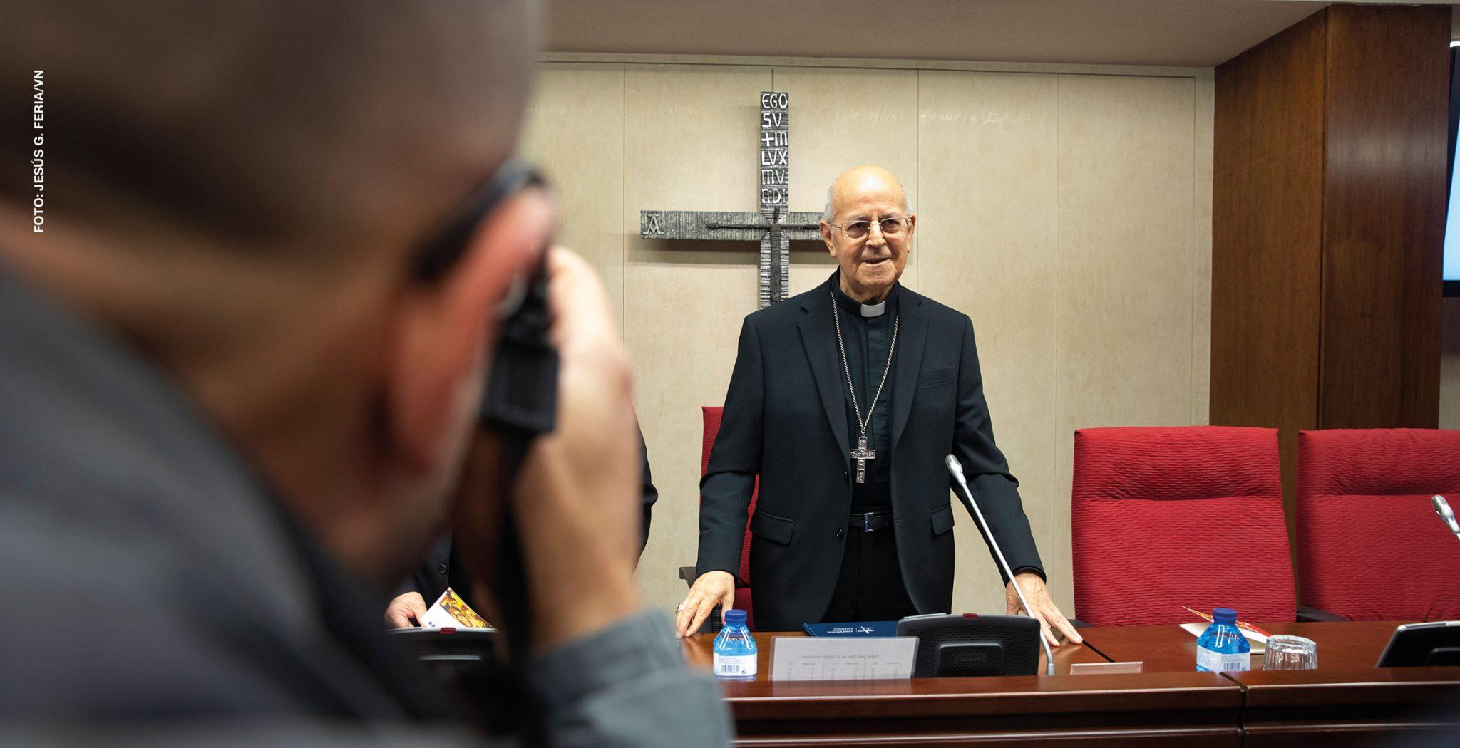 Ricardo Blázquez, presidente de la Conferencia Episcopal Española
