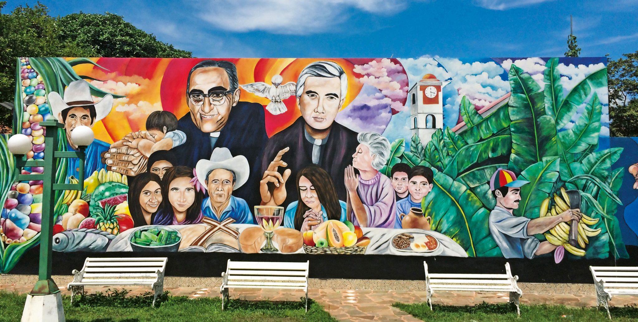 Mural de Romero y Rutilio
