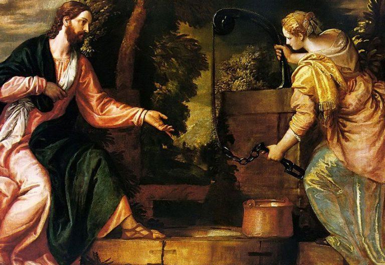 Jesús y la samaritana junto al pozo (Veronés)