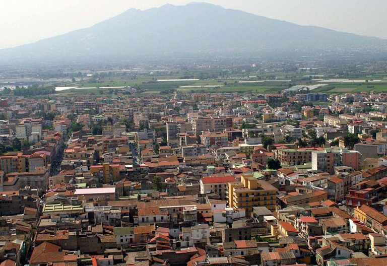 Acerra ciudad Italia